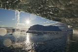 Icebergs in Disko Bay Photographic Print