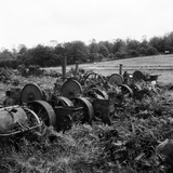 Great Massingham, Norfolk. a Group of Derelict Steam Engines Photographic Print by Hallam Ashley