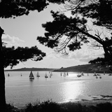 St Mawes Harbour, St Mawes, St Just in Roseland, Cornwall Photographic Print by John Gay