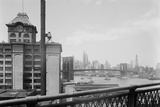 Brooklyn Bridge and Manhattan Skyline Photographic Print