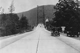Approaching the Bear Mountain Bridge Photographic Print
