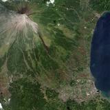 Mayon Volcano Threatening to Erupt Photographic Print