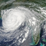 Hurricane Isaac (09L) over Louisiana Photographic Print