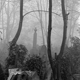 Highgate Cemetery, East Cemetery, Swains Lane, Highgate, Hampstead, Greater London Photographic Print by John Gay