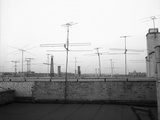 Antennas on New York Rooftops Photographic Print