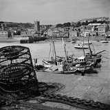 St Ives, Cornwall. a View Looking across the Harbour to St Ives from Smeaton's Pier Photographic Print by John Gay