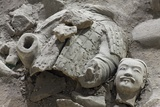 Broken Terracotta Soldier at Qin Shi Huangdi Tomb Photographic Print
