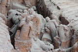 Broken Terracotta Soldiers at Qin Shi Huangdi Tomb Photographic Print