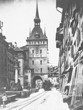 Clock Tower in Bern Photographic Print