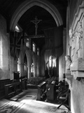 Interior View of the Nave of All Saints Church in Burnham Thorpe, Seen from the Chancel Photographic Print by Hallam Ashley