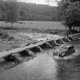 Tarr Steps, Withypool and Hawkridge, Somerset Photographic Print by John Gay