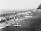 Aerial View of Le Bourget Flying Field Photographic Print