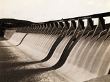 Great Hollow Dam across Colorado River Photographic Print