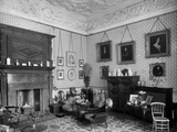 Audley End House, Essex, Interior View of Lady Braybrooke's Sitting Room Photographic Print by H. Bedford Lemere