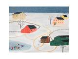 Collin's Snow Storm Print by Alexa Alexander