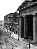Euston Road, London, View of Euston Road Showing Euston Arch (Built 1837, Demolished 1961) Photographic Print by H. Bedford Lemere