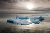 Melting Sea Ice, Svalbard, Norway Photographic Print