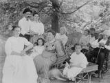 Portrait of a Family Fotografisk trykk