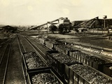 Colliery of Philadelphia and Reading Coal and Iron Company Photographic Print