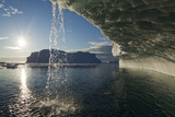 Melting Icebergs in Disko Bay Photographic Print