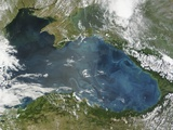 Phytoplankton Bloom in the Black Sea Photographic Print
