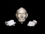 Bronze Cast of the 1860 Life Mask and Hands of Abraham Lincoln Photographic Print