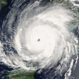Hurricane Rita Photographic Print