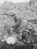 "Elderly Miner Named ""Daddy"" Photographic Print"