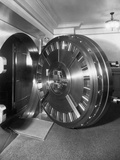 Open Bank Vault Door Photographic Print