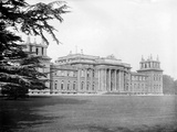 Blenheim Palace, Woodstock, Oxfordshire, Looking Along the South Front of the 18th Century Palace Photographic Print by Henry Taunt