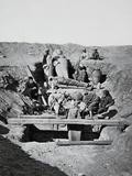 Excavation of a Tomb at Saqqarah Photographic Print