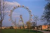 Giant Ferris Wheel in Prater Amusement Park Photographic Print
