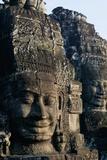 Avalokiteshvara Carving at Angkor Wat Photographic Print
