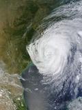 Hurricane Isaac (09L) over Louisiana Photographic Print
