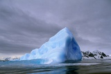 Iceberg at Entrance to Lemaire Channel in Antarctica Photographic Print