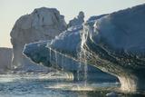 Iceberg Melting in Disko Bay in Greenland Photographic Print