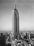1930s New York City Empire State Building Full Length Without Antennae Photographic Print