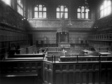 Victoria Law Courts, Corporation Street, Birmingham, Interior View Photographic Print by H. Bedford Lemere