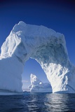 Arch Iceberg Near Lemaire Channel in Antarctica Photographic Print