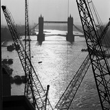 Tower Bridge, London. the Bridge Seen from Riverside Gantries, Looking East Photographic Print by John Gay
