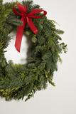 Green Door Wreath Stampa fotografica