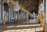 Grande Galerie or Galerie Des Glaces (The Hall of Mirrors) in Palace of Versailles Lámina fotográfica