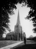 Holy Trinity Church, Cirencester, Gloucestershire, the Church Exterior from the North-West Photographic Print by Henry Taunt