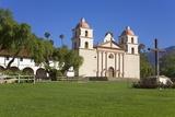 Old Mission Santa Barbara Photographic Print