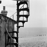 The South Lookout, Crag Path, Aldeburgh, Suffolk Photographic Print by John Gay