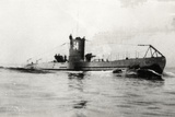 German Type Viia Submarine U-34 Photographic Print