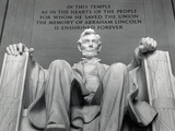 Lincoln Photographic Print by Daniel Chester French