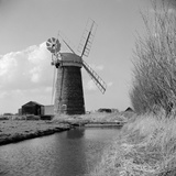 Horsey Staithe, Norfolk, The Mill Photographic Print by Hallam Ashley