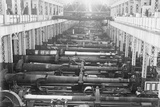 Artillery Manufacturing Plant Photographic Print