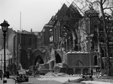 Camden, London, a View of the Bombed Remains of the Church of St John the Evangelist Photographic Print by Herbert Felton